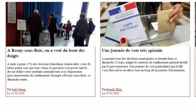 « On a voté du bout des doigts » : collecter le web électoral.