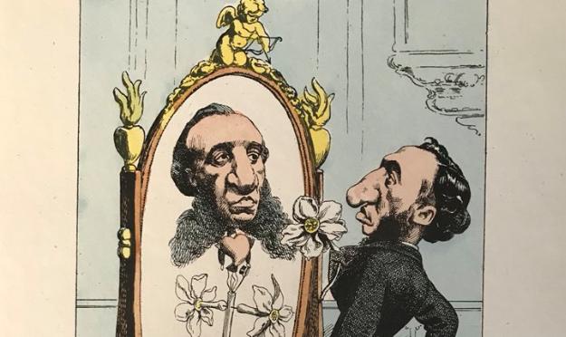 Faites parler les images ! une séance de caricatures évoquée à la chambre des députés en 1884