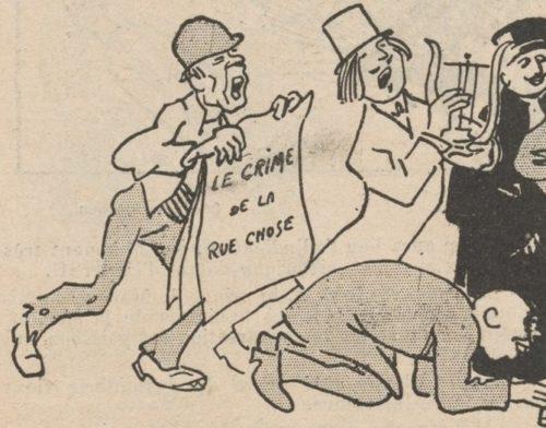 Illustration parue dans Le Rire : journal humoristique, 9 mars 1907