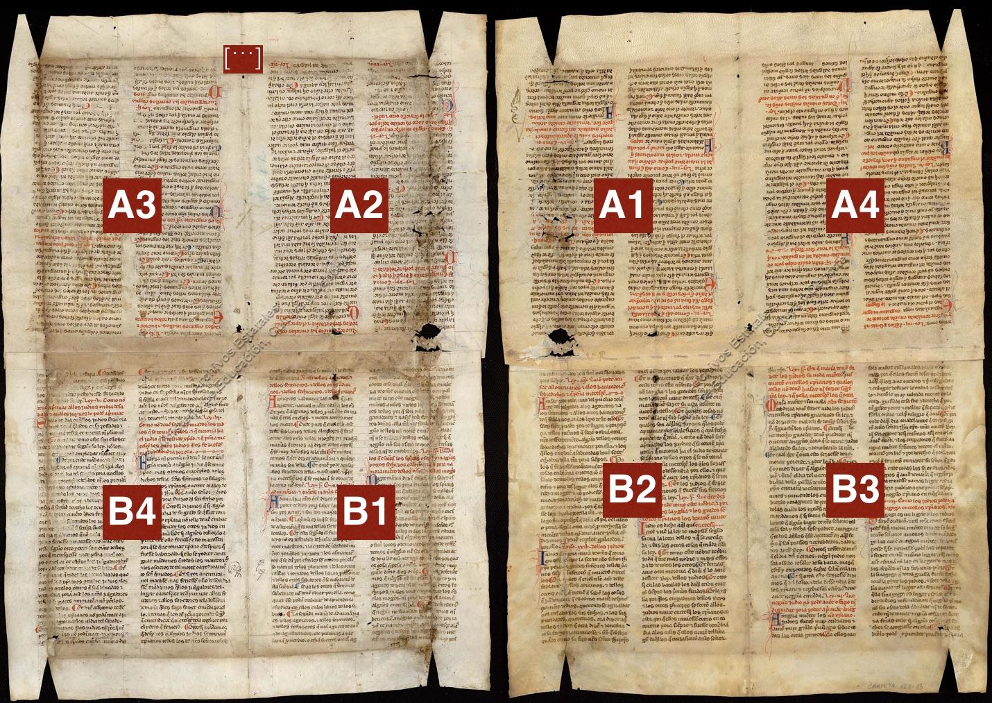 Secuencia de lectura de ARCHVa 121-13 (VA2)