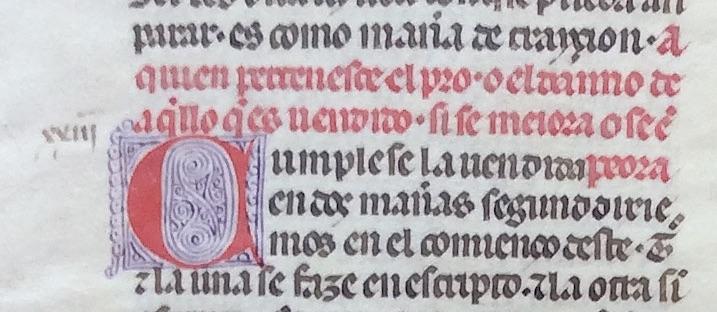 Modena, Archivio di Stato, detalle de 3v