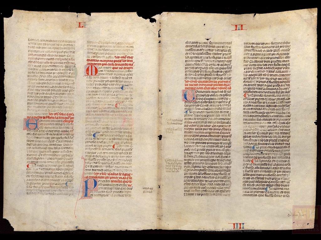 Fragmento VA6, fols. 1v-2v