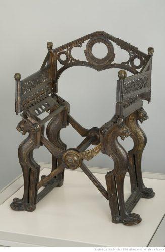 le tr ne dit de dagobert l antiquit la bnf. Black Bedroom Furniture Sets. Home Design Ideas