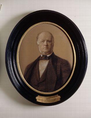 Portrait du duc de Luynes par Sébastien (1804-1870) - pastel, Département des Monnaies, médailles et antiques MMA LUYNES 965
