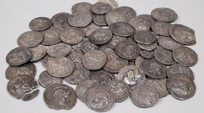 Les trésors de monnaies grecques de la BnF intègrent le portail Coin Hoards