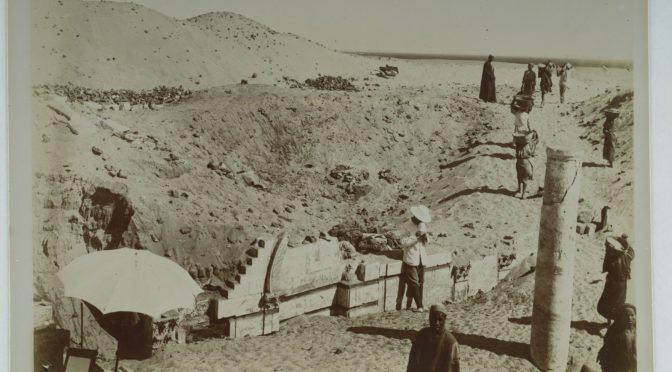 Conférence 5 février 18h30 Le site monastique copte de Baouît : apport des archives photographiques à la muséographie et à l'archéologie