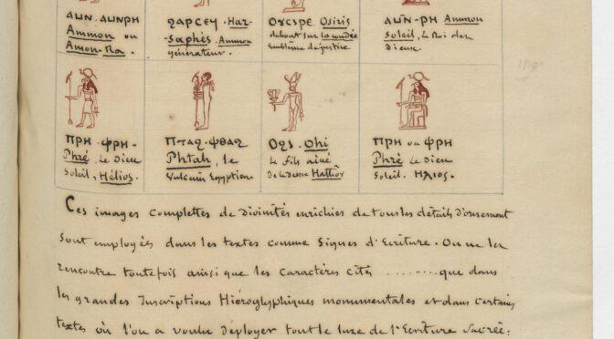 Les Archives d'Antiquistes et d'Orientalistes à la BnF