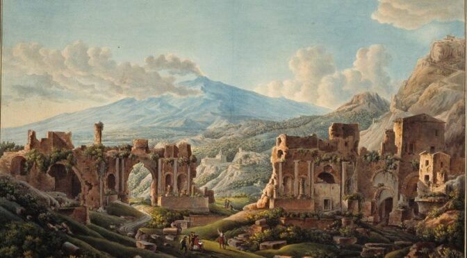 Conférence en ligne : Les vues d'Italie et d'Orient par les frères Piranèse
