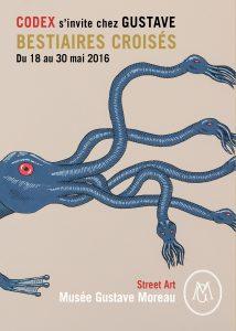 Affiche de l'exposition d'après Codex Urbanus, Hydre de Lerne © Nicolas Adet