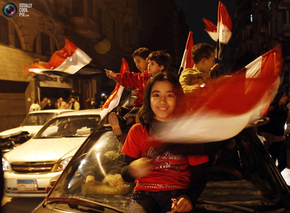 Le bonheur d'une révolution, Égypte, 2011