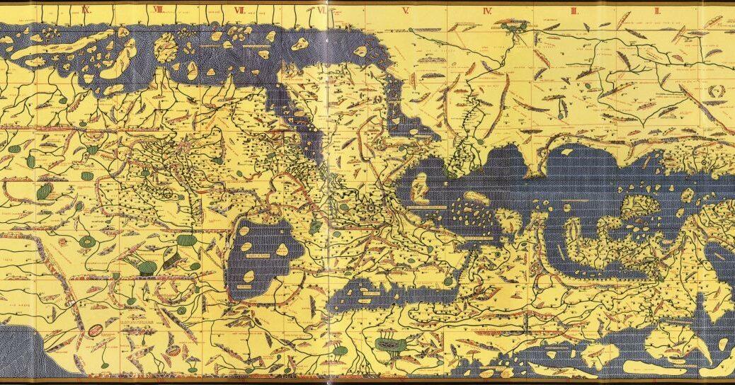 Tabula rogeriana, 1154. Le monde à l'envers