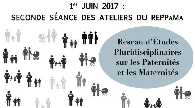 Atelier du REPPaMa : prochaine séance le 1er juin 2017