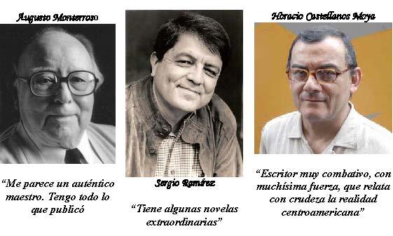 3 autores centroamericanos
