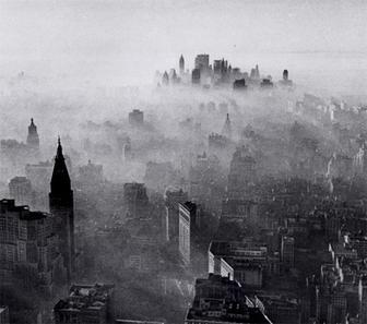 Smog de New York en 1966