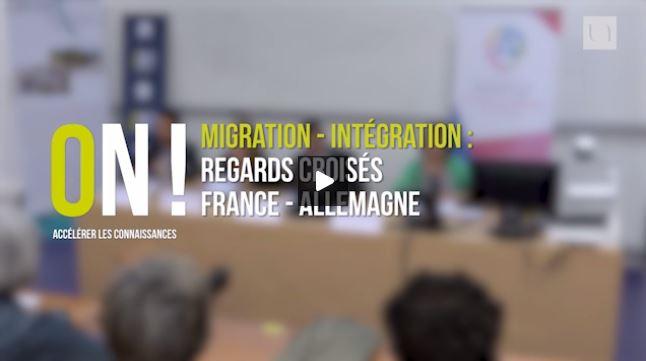 Vidéo, Table ronde : «Migration, intégration : regards croisés France Allemagne»