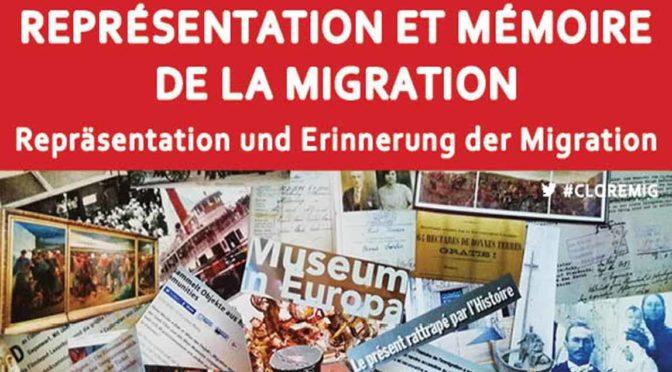 Compte rendu du colloque «Représentation et mémoire de la migration» sur la plateforme H-soz-kult