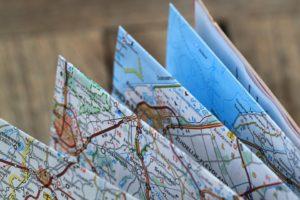 Faltplan, Reiseroute pixabay, Lizenz C-0