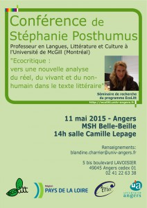 affiche conférence S. Posthumus