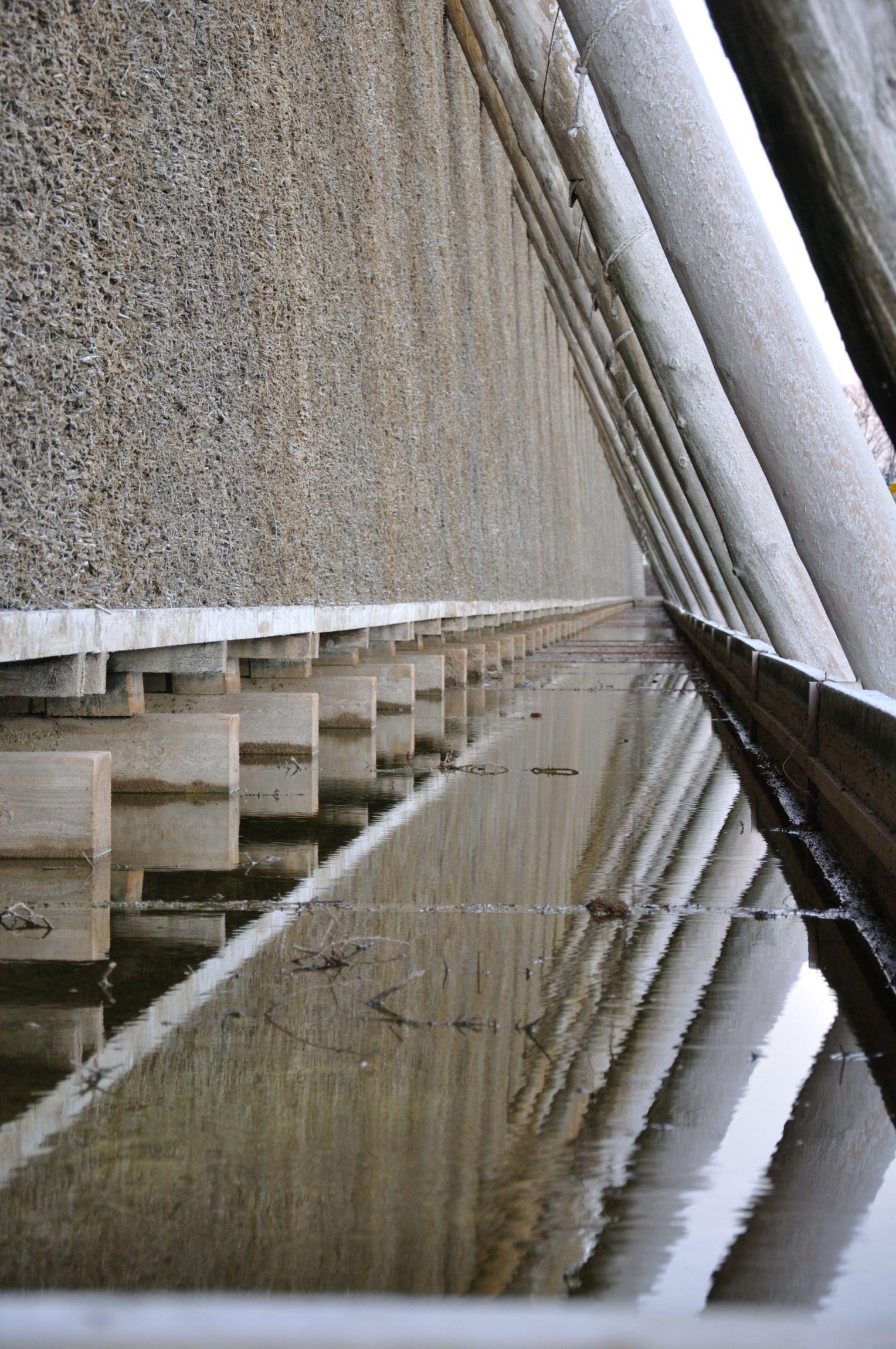 Detailansicht der Stützstreben