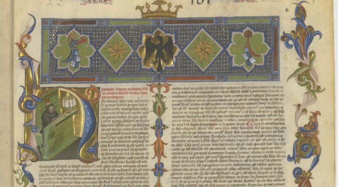 Pour bien terminer cette année : 10 manuscrits médiévaux d'exception mis en ligne dans Gallica en 2020