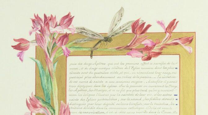 Enrichissements du département des Manuscrits : quatre livres enluminés des XIXe et XXe siècles.