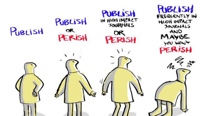 Produtivismo, citações e publicação em periódicos – algumas reportagens