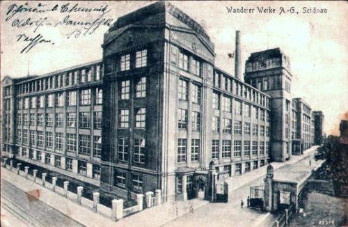 Wanderer-Werke Schönau/Chemnitz 1920