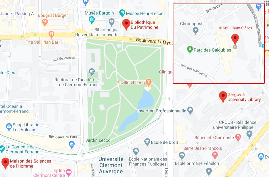 map bibliothèques