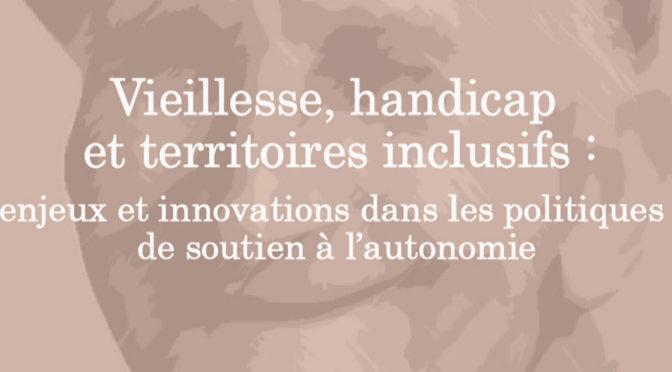 Manon Labarchède à la journée d'étude «vieillesse, handicap et territoires inclusifs» | 18/10/2019 – Bordeaux