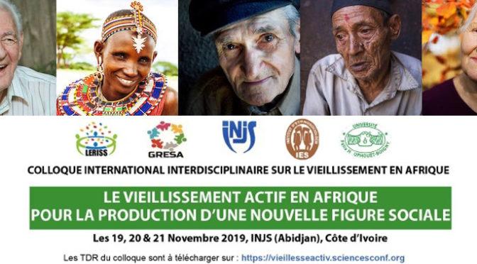 PAVE au colloque d'Abidjan «Le vieillissement actif en Afrique» | 19-21/11/2019