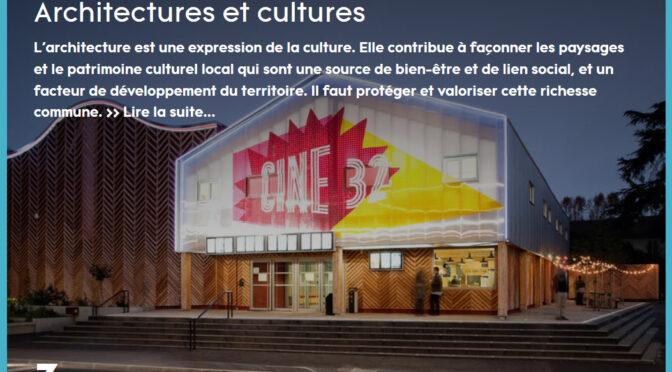 diffusion de la culture architecturale | livre blanc du cnoa EN LIGNE