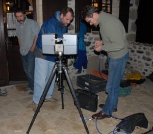 prise en main du scanner Photon (société Faro)