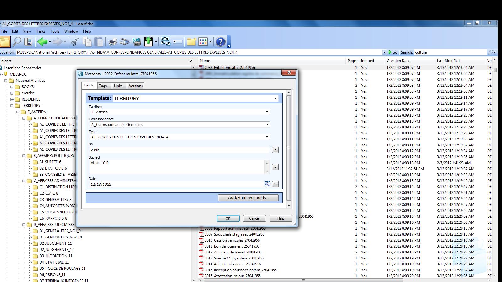 Archives nationales, nouveau logiciel et nouvel inventaire