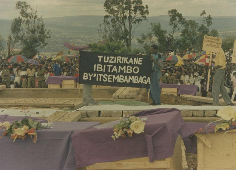 Photo de la commémoration de Rebero: 1995