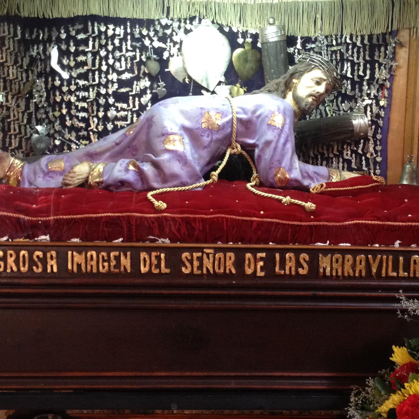Ex-voto au Seigneur des Merveilles, San Miguel Allende, Mexique, 23 août 2015. Photo Renée de la Torre.