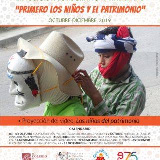 """Calendario: Exposición fotográfica itinerante """"¡Primero los niños y el patrimonio!"""""""