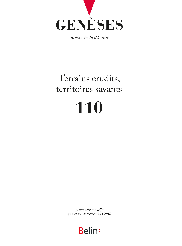 couverture Genèses 110