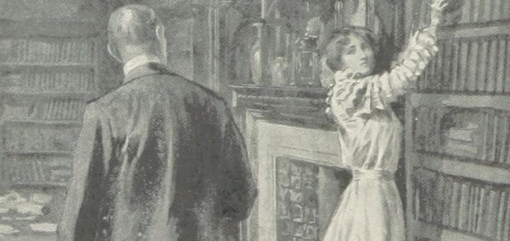 age 192 de l'ouvrage The Path of a Star… With, illustrations de F. H. Townsend, British Library, 1899, publié par W. J. Gage & Co.Issuance