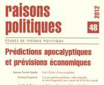 Prédictions apocalyptiques et prévisions économiques