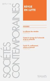Sociétés contemporaines et les revues en lutte