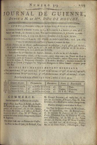 Journal de Guyenne, n°313, 9 novembre 1789 (1)