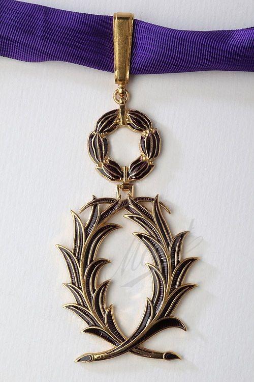 Ordre des Palmes Académiques - Commandeur des Palmes Académiques - Mouret