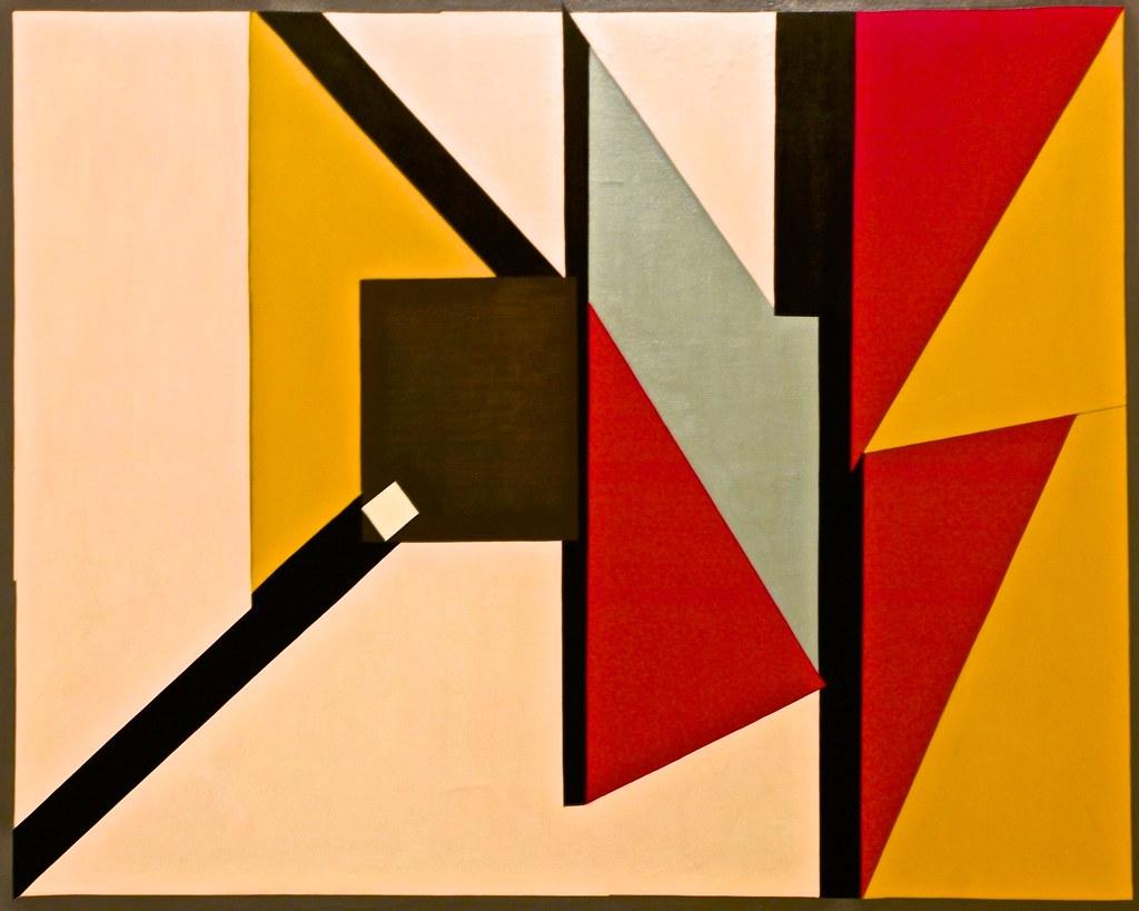 Est - Ouest 2 (1956) - Richard Mortensen (1910 - 1993), Belem, Berardo Collection, Centro Cultural de Belem, Lisbon, Portugal,November 22, 2015 | © Courtesy of Pedro Ribeiro Simões/Flickr.