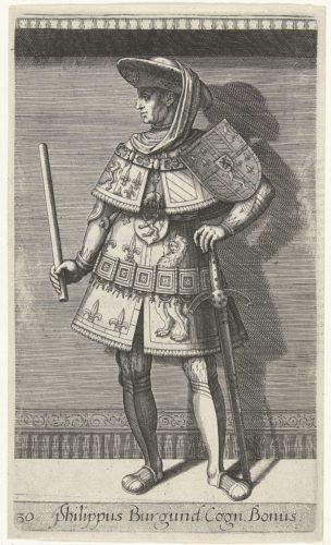 Portret van Filips de Goede, hertog van Bourgondië; Philippus Burgund