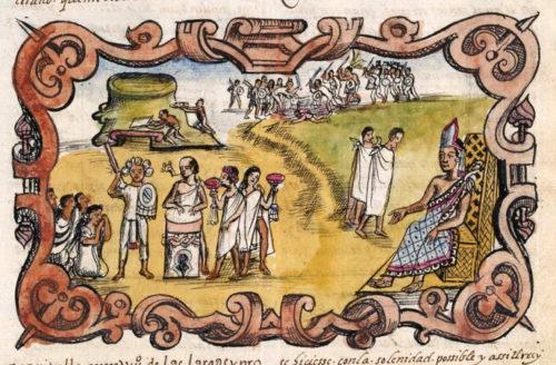 Códice Durán, p. 108r