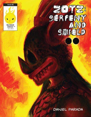 Zotz : serpent and shield, 2
