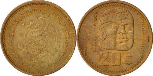 20 centavos 1983