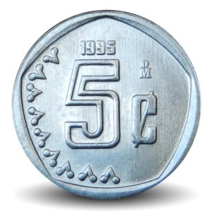 Revers 5 centavos