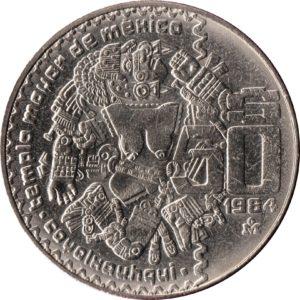Revers 50 pesos 1982-1984