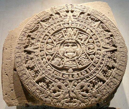 Piedra del Sol, le calendrier aztèque.